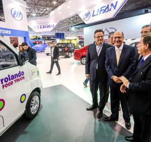 Governador Geraldo Alckmin aprova nova proposta de Food Truck